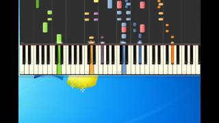 Madness   Driving In My Car [Piano tutorial by Synthesia]
