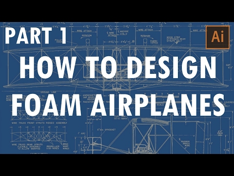 nerdnic | How to Design Foam Airplanes - Part 1