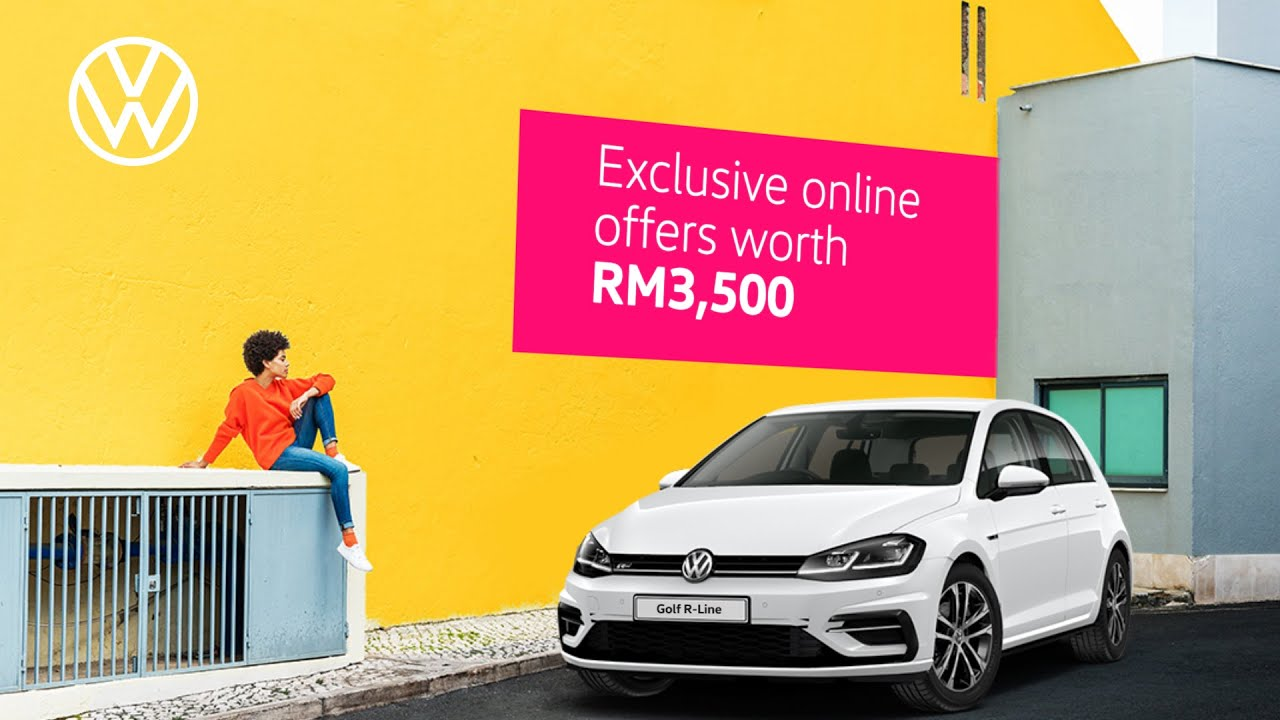 Enjoy exclusive online savings | The Golf R-Line | July 2020