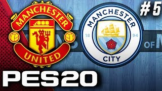 PES 2020 Manchester United Master League EP5 - Incredible Manchester Derby!!