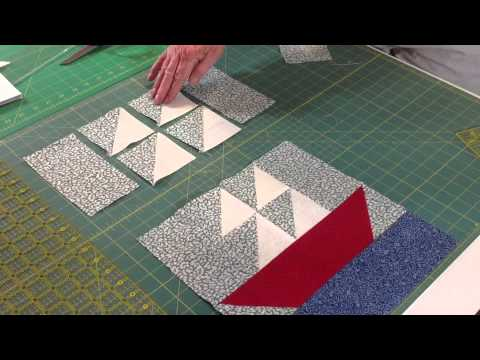Easy Sailboat Quilt Block Youtube