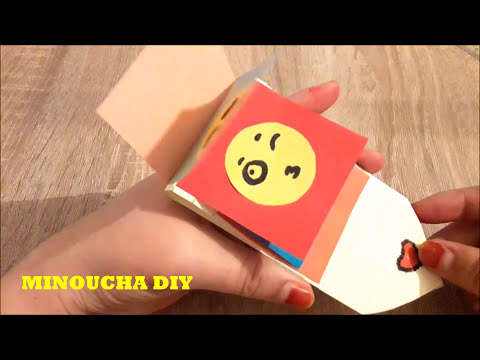طريقة صنع بطاقة تهنئة Diy Mini Card Youtube