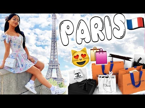 PARIS SHOPPING SPREE!
