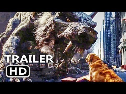 Rampage Dog vs Giant Wolf Trailer (2018)   NEW Movieclip[HD]