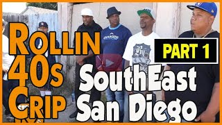 James Savage (Jayo Felony) from NeighborHood Rollin 40s Crips in Southeast San Diego and OGs (pt1)