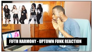 FIFTH HARMONY - UPTOWN FUNK COVER REACTION