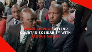 Media bigwigs attend court in solidarity with Jacque Maribe