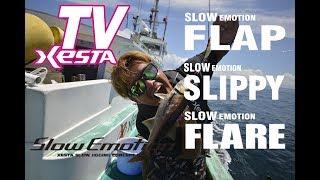 XESTA TV SlowEmotion フラップ、スリッピー、フレア