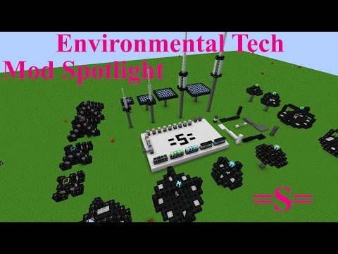 Environmental Tech Mod Spotlight (Minecraft 1.10) (redo)