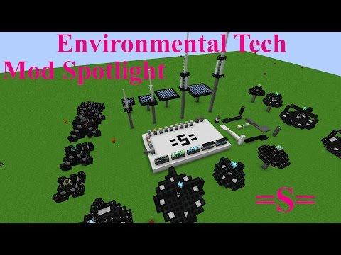 Environmental Tech Mod Spotlight (Minecraft 1.10) (redo)