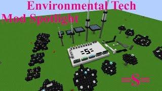 Environmental Tech Mod Spotlight Minecraft 1.10