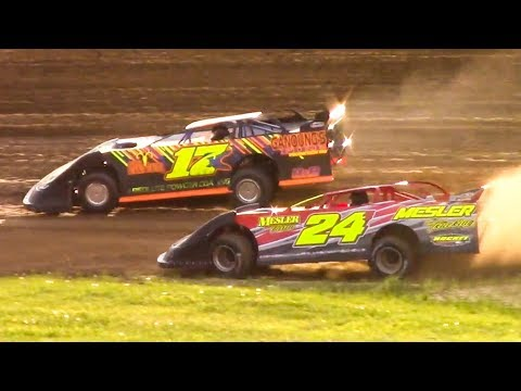 RUSH Crate Late Model Heat Two | McKean County Family Raceway | 5-19-18