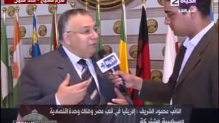 بالفيديو..السيد الشريف: احتفالية شرم الشيخ مظاهرة حب حقيقية وتأييد لمصر