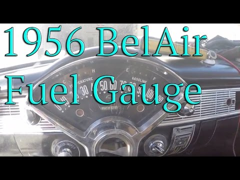 57 Chevy Fuel Gauge Wiring | Wiring Diagram on