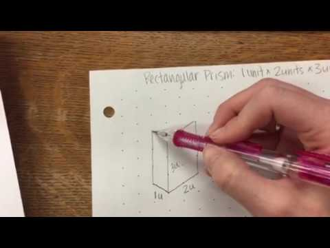 How To Draw 3-D Rectangular Prisms On Isometric Dot Paper - Youtube
