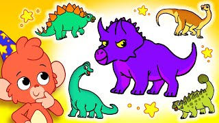 Club Baboo | Fun with dinosaurs for kids | Do you know them all?