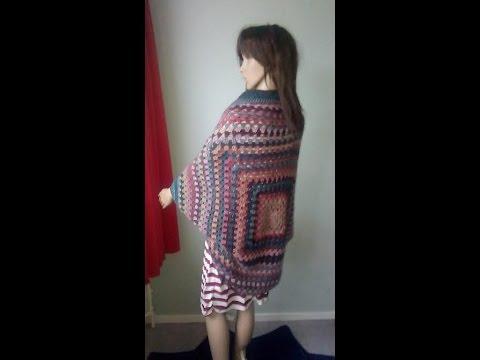 Haken - tutorial: granny vest