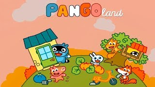 Pango Land is a country of funny animals. Cartoon for kids about animals.