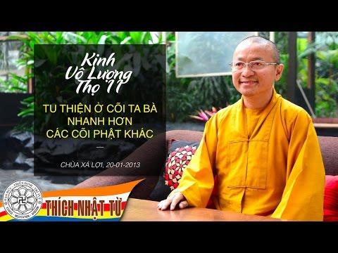 Kinh Vô Lượng Thọ 11 (2013): Tu thiện ở cõi Ta-bà nhanh hơn các cõi Phật khác