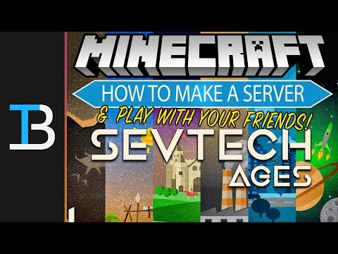 How To Make A SevTech Ages Server (Play SevTech Ages w/ Your Friends