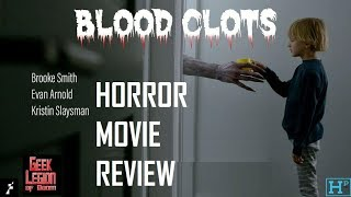 BLOOD CLOTS ( 2018 Brooke Smith ) Anthology Horror Movie Review