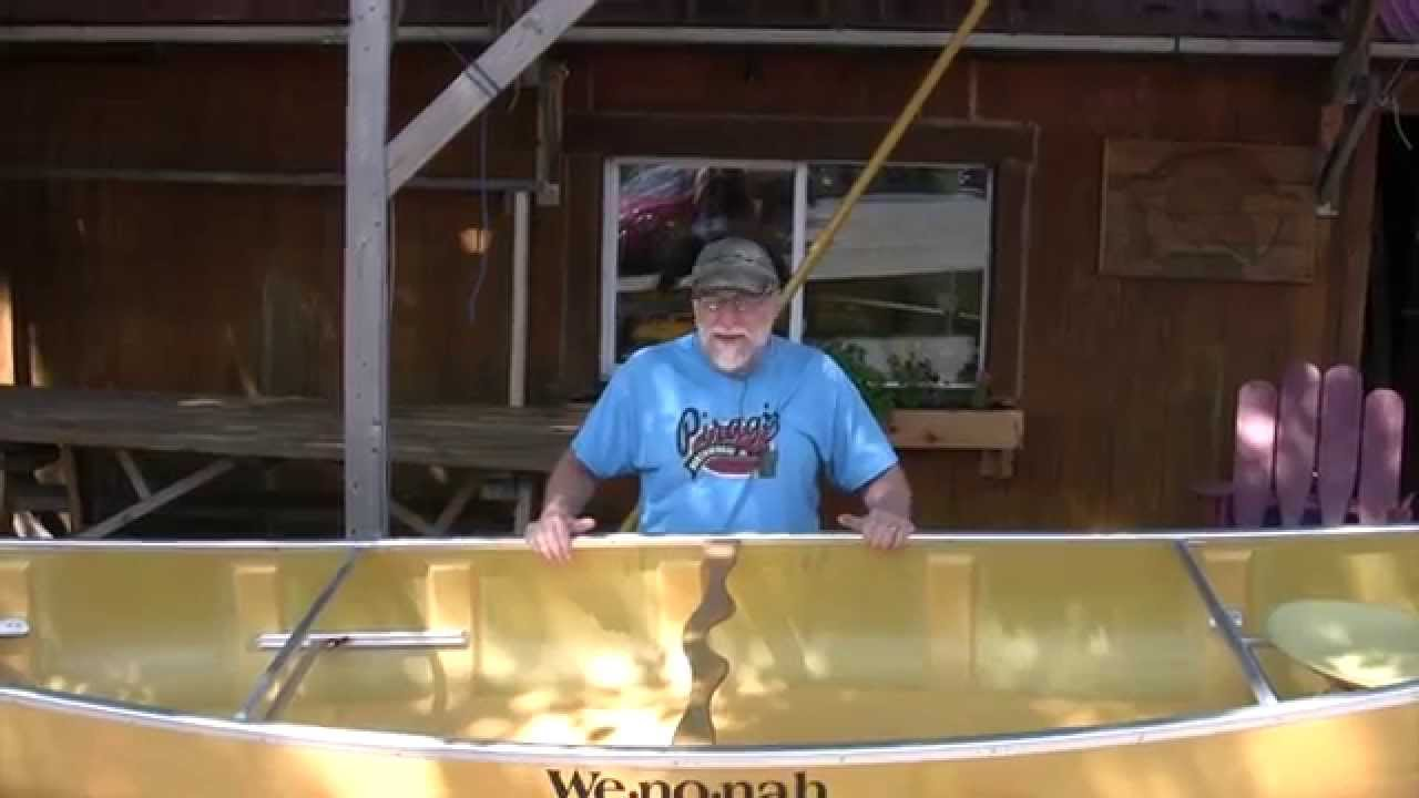 Wenonah Champlain Canoe Product Video Boundary Waters Catalog