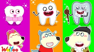 Wolfoo and Funny Stories for Kids About Wobbly Tooth | Wolfoo Family Kids Cartoon