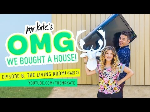 OMG We Bought A House! Episode 8: The Living Room! (part 2)