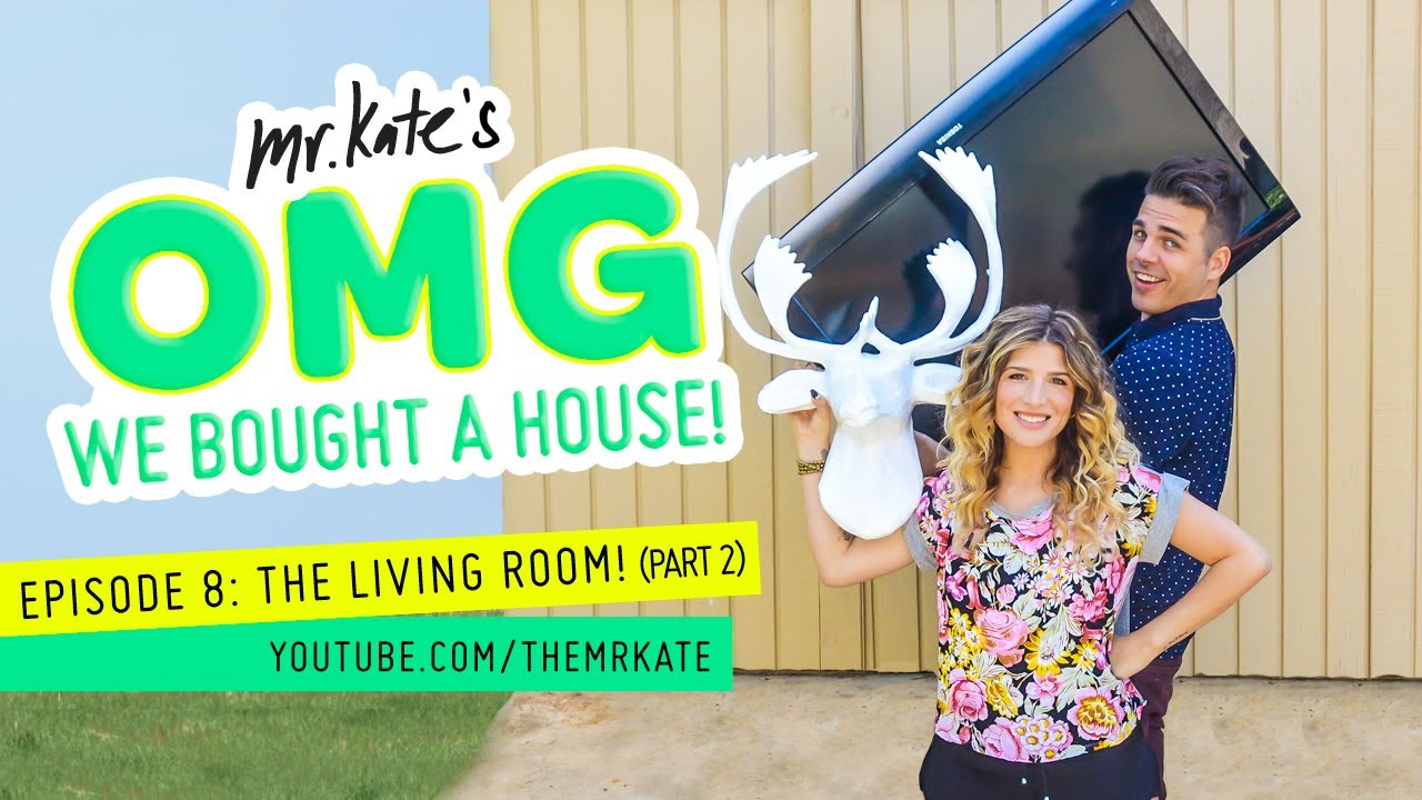 the living room part 2 omg we bought a house youtube