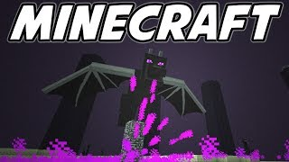 Defeating the ENDER DRAGON - Let's Play Minecraft Survival - Ep. 37