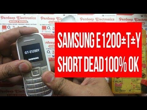 samsung E1200 short dead solution 100 % Ok | Pardeep Electronics
