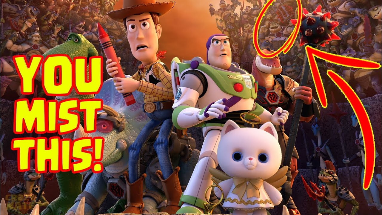 Toy Story That Time Forgot Easter Eggs Youtube