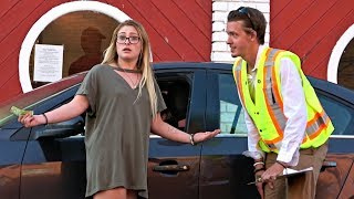 Giving Fake Parking Tickets Prank (THEY GOT MAD)