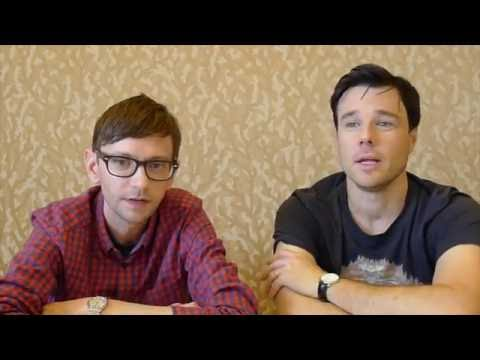 DJ Qualls and Rupert Evans for The Man in the High Castle at SDCC 2016