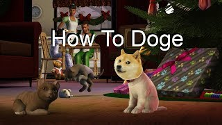 Sims 3 Pets | How to create a Doge |