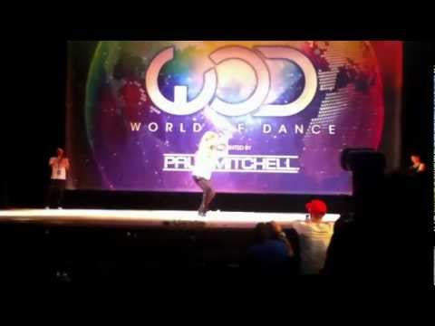 Chachi Gonzales at World Of Dance NY 2012