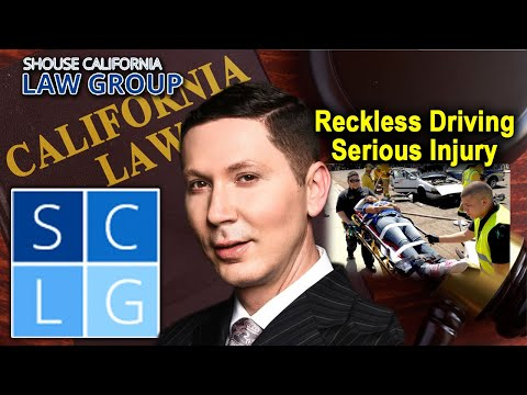 Reckless driving causing serious injury in California - Vehicle Code 23105 VC