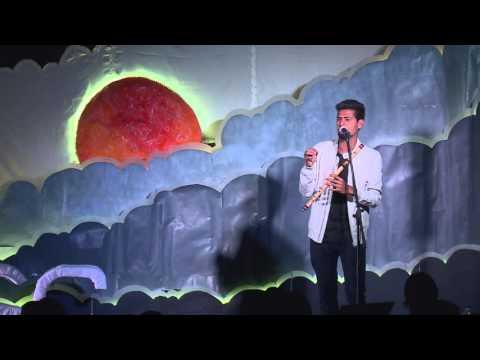 India's first Fluteboxer   Sudhir R   TEDxPESITBSC
