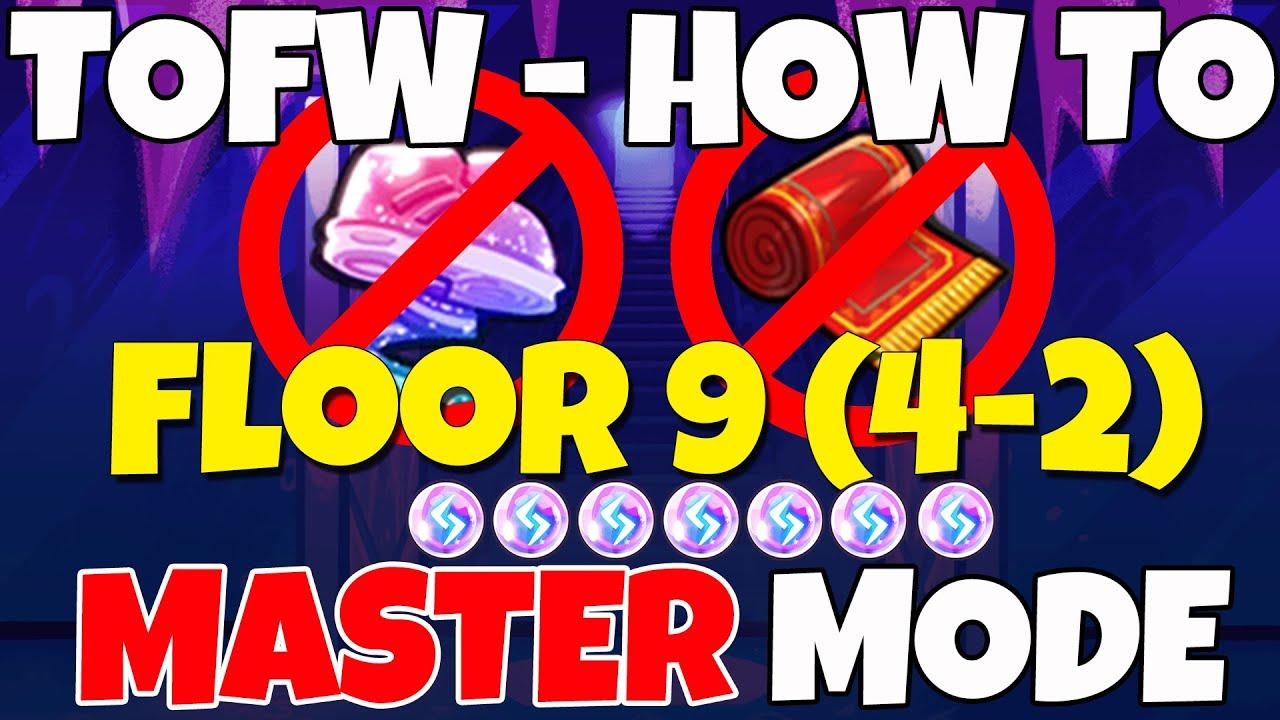 CROB FLOOR 9 4-2 MASTER NO TREASURES TOWER OF FROZEN WAVES CookieRun Ovenbreak