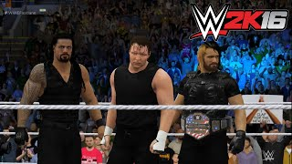 WWE 2K16 - The Shield Entrance (PS4)