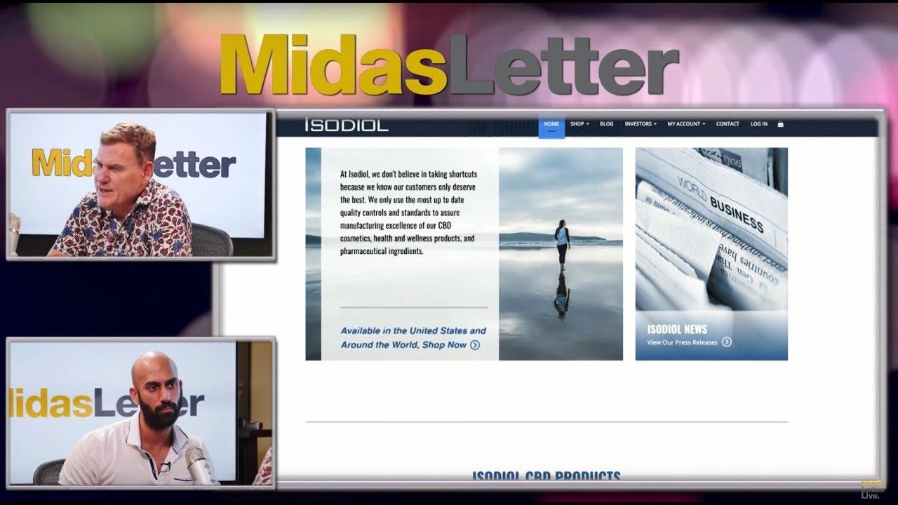 VIDEO: Isodiol International Inc (CNSX:ISOL) CBD Innovation