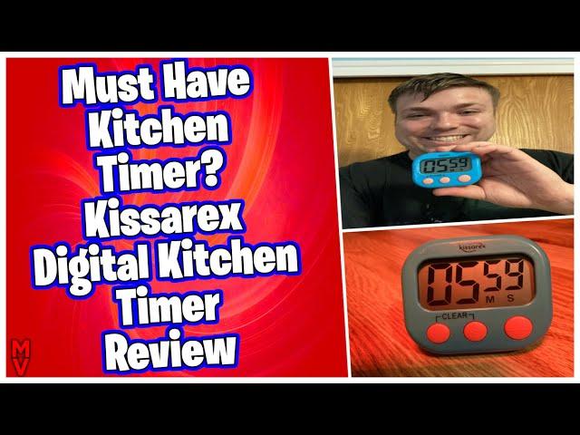 Must Have Kitchen Timer? Kissarex Digital Kitchen Timer Review MumblesVideos