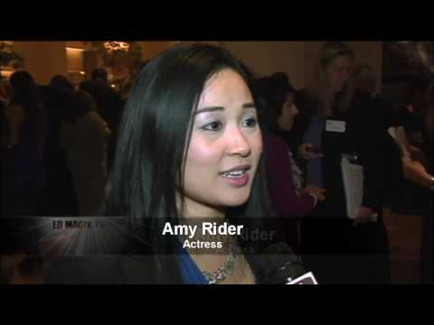 Amy Rider Red Carpet Interview at The Alliance for Children's Rights Annual Dinner Gala