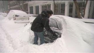 ABD ve Kanadada yoğun kar yağışı
