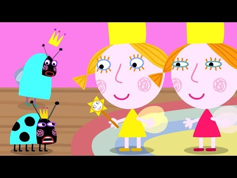 Ben and Holly鈥檚 Little Kingdom | Queen Thistle Becomes a Ladybird! | 1Hour | HD Cartoons for Kids HD