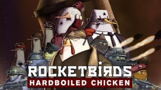 Rocketbirds Hardboiled Chicken Gameplay [ PC HD ]