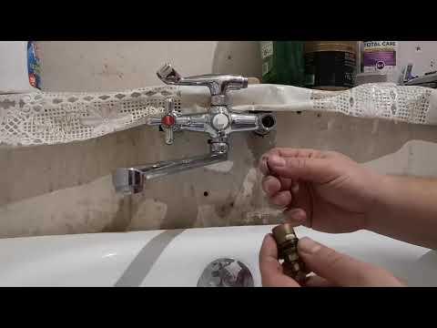 Течет кран? Самый простой ремонт буксы смесителя за минуту.