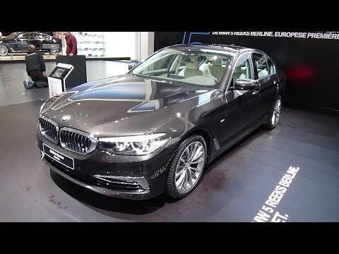 2017 BMW 520d Sedan Luxury Line - Exterior and Interior - Auto Show Brussels 2017