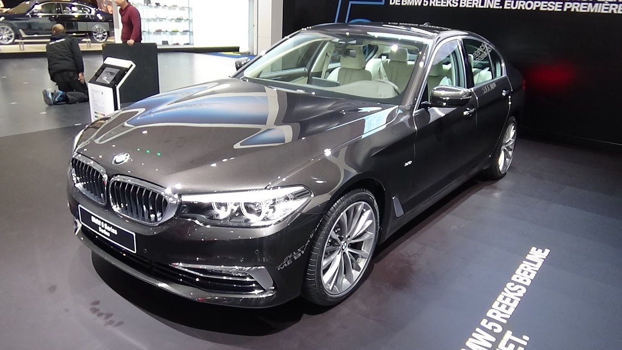 2017 BMW 520d Sedan Luxury Line