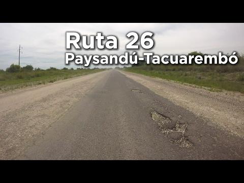 Ruta 26 Uruguay - De Paysandú A Tacuarembó